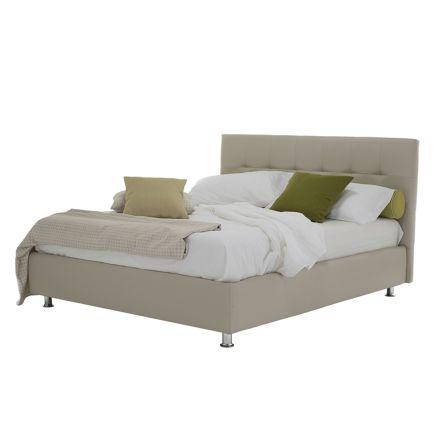 Luxe modern tweepersoonsbed met opbergdoos gemaakt in Italië - Orfei