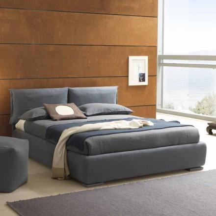 Tweepersoonsbed zonder doos, hedendaags design, Iorca by Bolzan