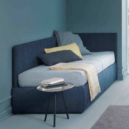 Eenpersoonsbed, met hoekbed en zijpaneel Lijn 4 Bolzan