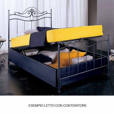 Single Bed in smeedijzer Auriga