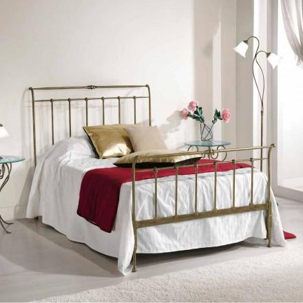 Bed queen size smeedijzeren volledige Kelly gemaakt in Italië