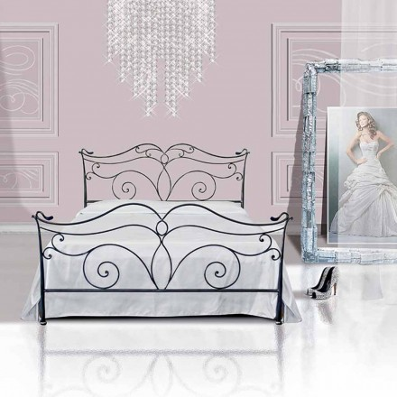 Een bed and a Half Plein smeedijzer Febo