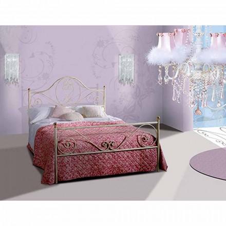 Een bed and a Half Plein smeedijzer Gea