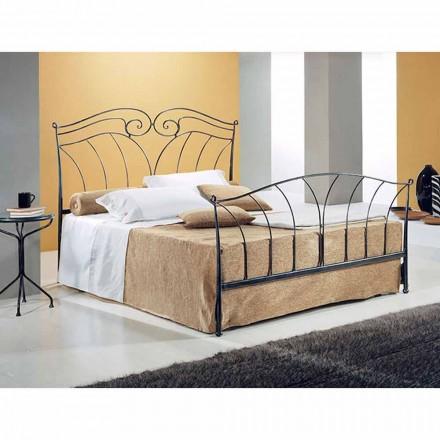Een bed and a Half Plein smeedijzer Neptune
