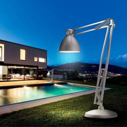 Leucos The Great JJ outdoor vloer lamp in aluminium design