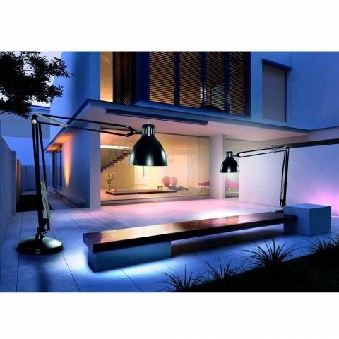 Leucos The Great JJ outdoor vloer lamp in aluminium design