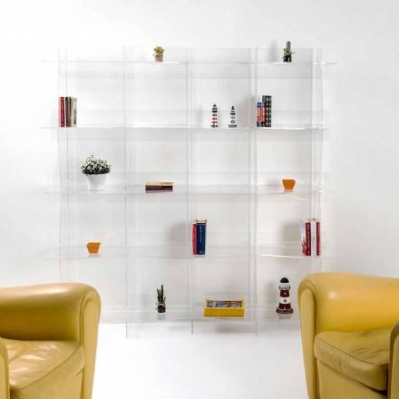 vrijstaande kast / muur modern ontwerp Pam transparante