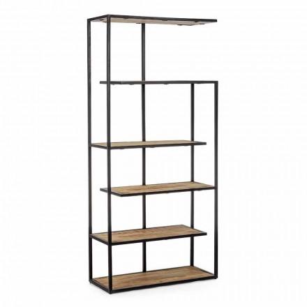 Vloerboekenkast met homemotion geverfde stalen structuur - Borino