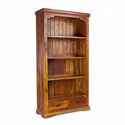Klassieke design boekenkast in massief acaciahout Homemotion - Umami