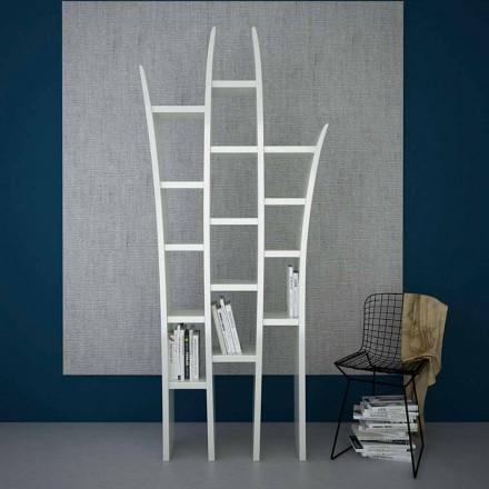 Moderne design-boekenkast van Herba, gemaakt in Italië