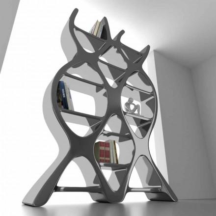 Moderne boekenkast van vloer in Solid Surface-DNA