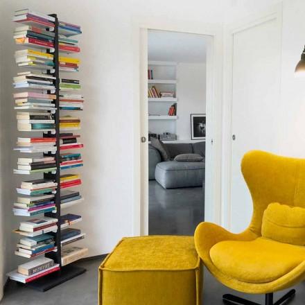 Moderne bibliotheek van de grond aan de wand tante Fin
