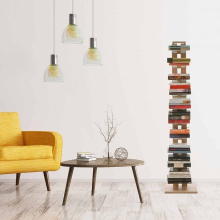 Bibliotheek modern kolomontwerp Tante Hortense