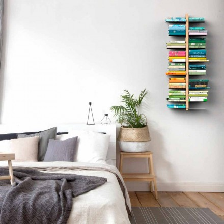 Bibliotheek modern design muur Tante Bice