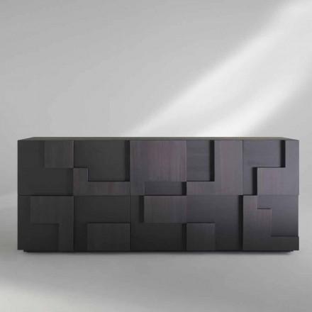 ontwerp dressoir hout geborsteld lariks thermisch behandeld Azalea
