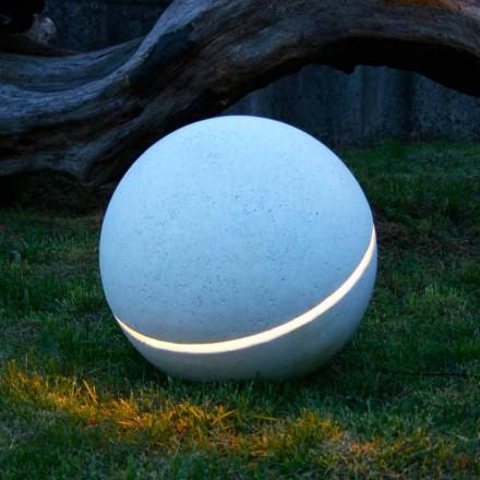 verlichten Marble Geleid door de vorm van een bol met 1 Sphera spleet