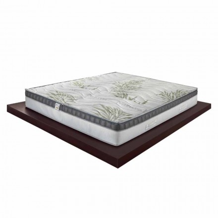 Luxe Memory Double Matras 25 cm hoog Made in Italy - Idee