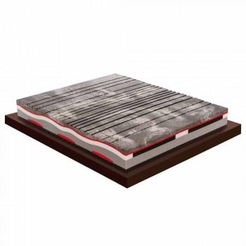 Memory Xform dubbele matras 25 cm hoog Made in Italy - houtskool