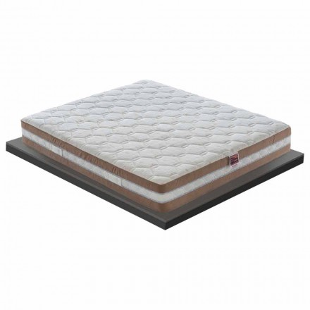 Matras Anderhalf in Memory Xform 25 cm hoog Made in Italy - Charcoal