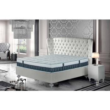 Anderhalve matras in Memory en Carbon Resistex Made in Italy - Villa