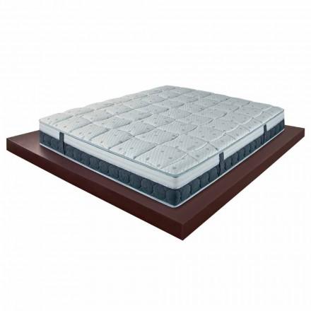 25 cm hoge en medium matras in geheugen gemaakt in Italiaanse kwaliteit - Villa
