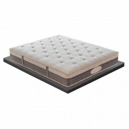 Anderhalve matras in hoogwaardig geheugen H 25 cm - Silvestro