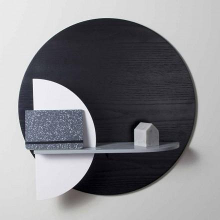 Designplank in gelakte meerlaagse samenstelling van modulaire panelen - Livia