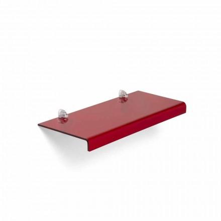 modern ontwerp plank L90xP22 cm methacrylaat, Polly
