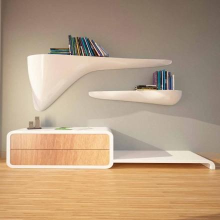 Moderne designplank geproduceerd in Italië, Sizzano