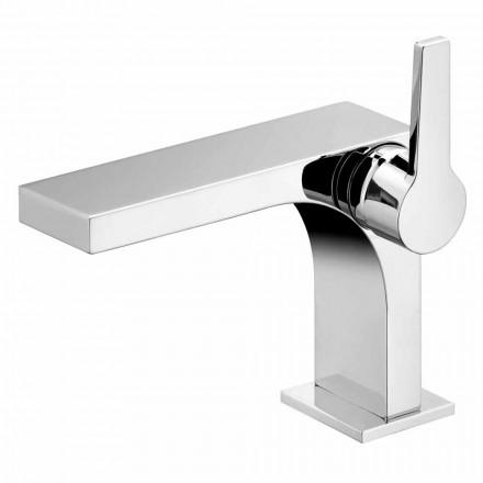 Eengreeps wastafelmengkraan zonder lediging in luxe design - Etto