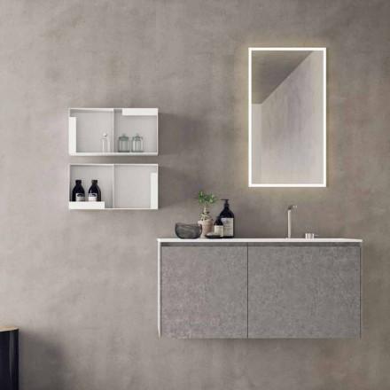 Hangend designmeubilair, moderne badkamersamenstelling - Callisi9