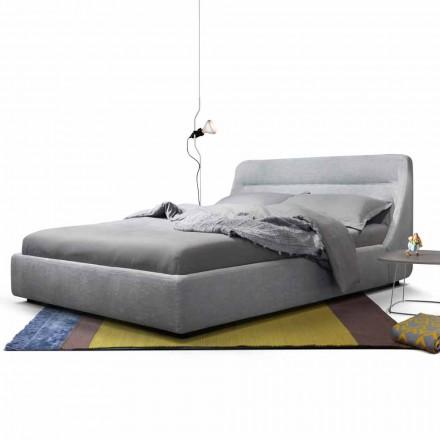 My Home Sleepway gestoffeerd tweepersoonsbed 180x90cm gemaakt in Italië