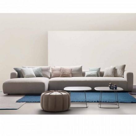 My Home Zacht sectionele designbank gemaakt in Italië