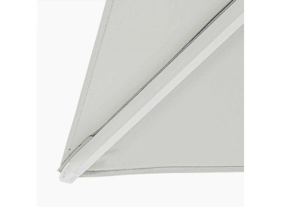 2x3 buitenparaplu van polyester met aluminium structuur - Fasma