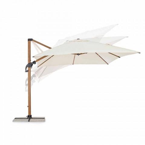 3x4m tuinparaplu in aluminium en polyester, Homemotion - Marco