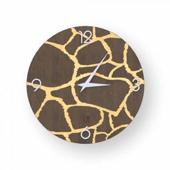 Acri-wandklok in modern design, gemaakt in Italië