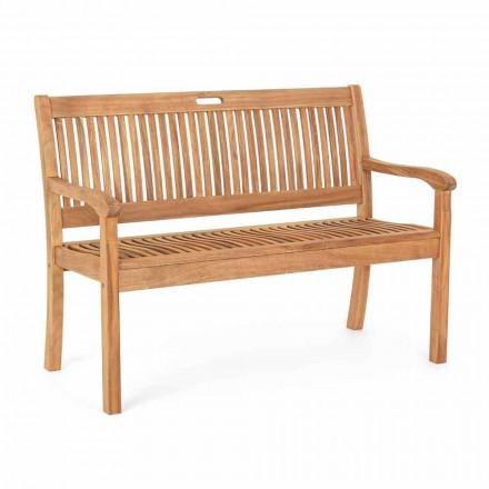 Tuinbank in acaciahout voor buiten met 2 of 3 zitplaatsen - Roxen