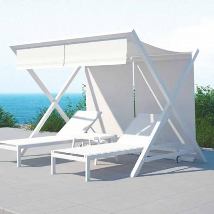 Outdoor Design aluminium en textilene zonnescherm - Donau