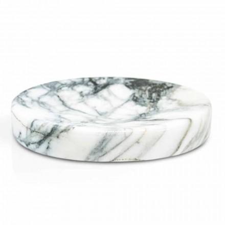 Badkamer zeepschaal in Paonazzo marmer Modern Made in Italy - Argos