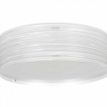 3 plafondverlichting modern design polypropyleen Debby, 60 cm diameter