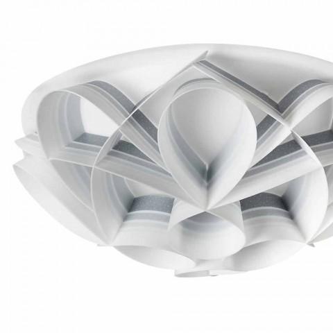3 plafond verlichting in Italië gemaakt van modern design, diam. 51 cm, Lena