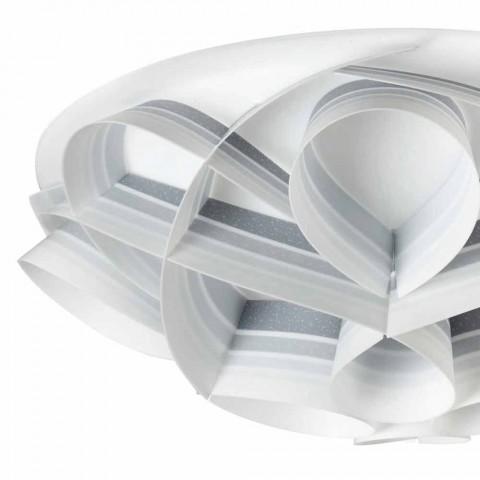 4 plafondverlichting in een modern design made in Italy, diam. 70 cm, Lena