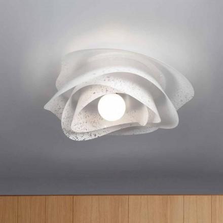 witte moderne cm diameter plafondontwerp 55 Antalya, made in Italy