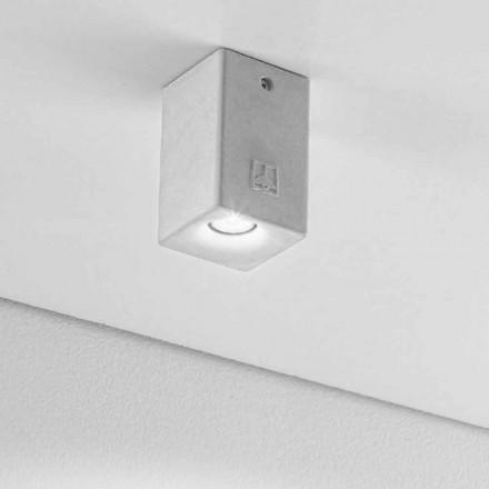 vierkante plafondlamp voor buiten Led Nadir 2 Aldo Bernardi