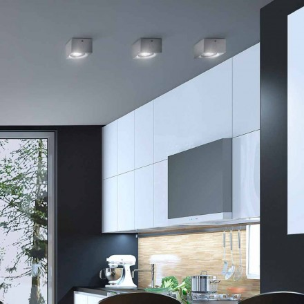 modern vierkant plafond pleister of beton ontwerp Nadir