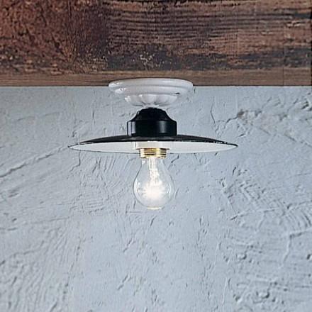 Rustieke plafond round plafondlamp Ferroluce keramische Vermogen
