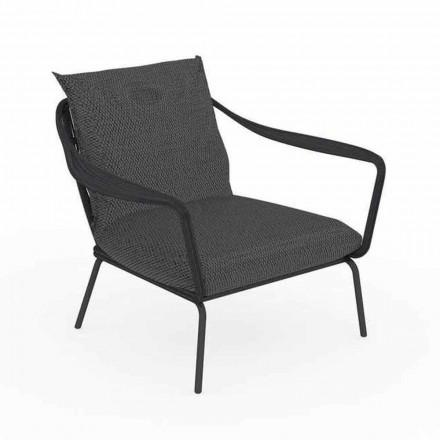 Moderne design buitenfauteuil in aluminium en stof - Cruise Alu Talenti