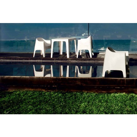 Modern design outdoorzetel van polypropyleen, Solid van Vondom