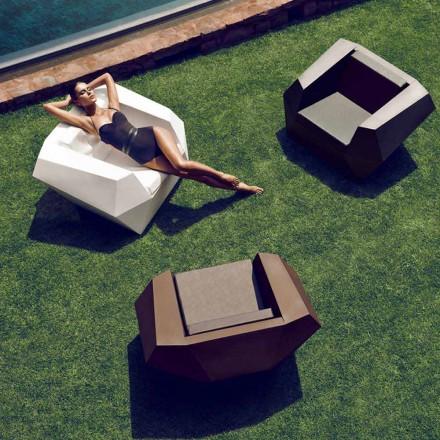 Modern design outdoor fauteuil, in polyethyleen, Faz van Vondom