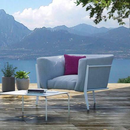 Modern en gemaakt in Italië design fauteuil voor buiten of binnen - Carminio1